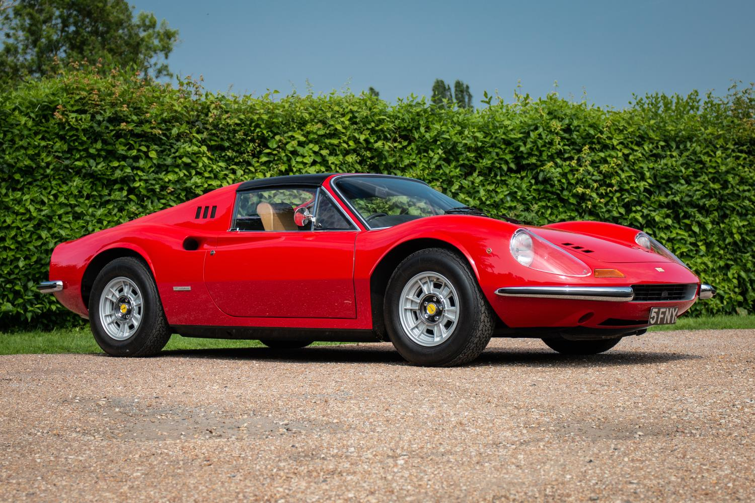 Ferrari S Tribute Goes To Auction At The Silverstone Classic Endurance Classic English